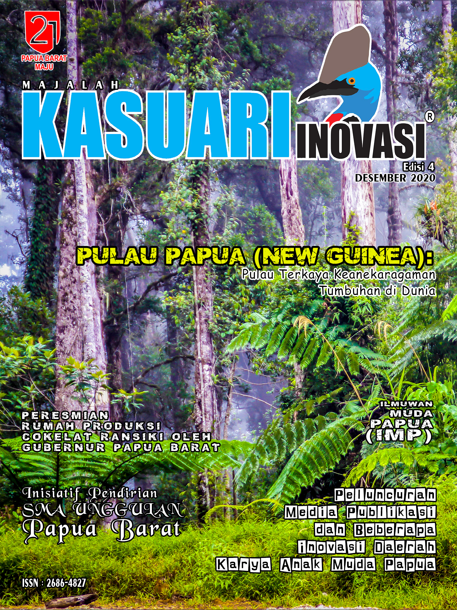 Majalah Kasuari Inovasi Edisi 4