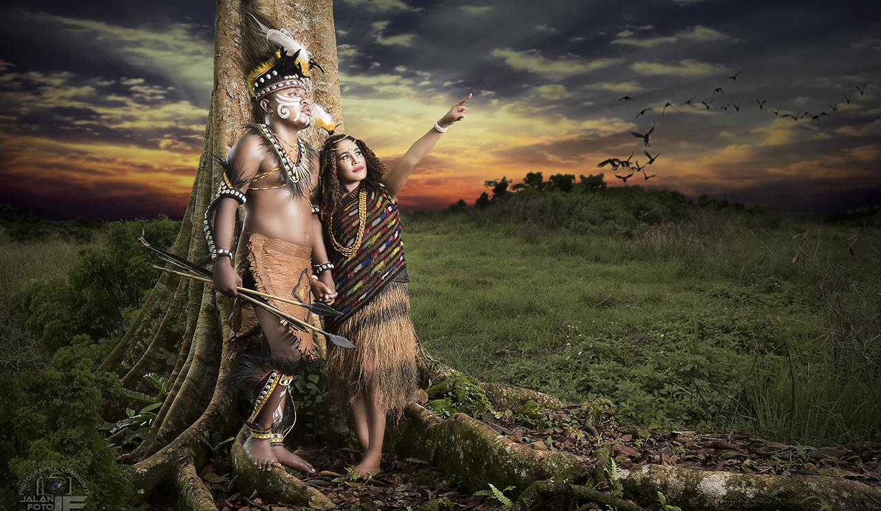 Busana Adat Papua