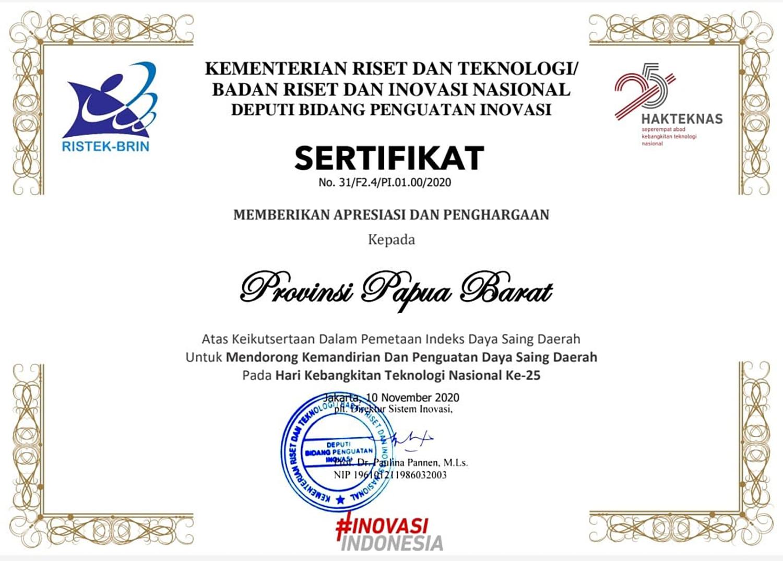 IDSD Papua Barat Melampaui Sejumlah Provinsi di Sumatera, Kalimantan dan Sulawesi