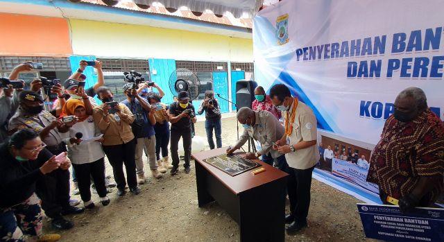 Gubernur Papua Barat Resmikan Rumah Produksi Cokelat Ransiki