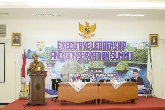 Sambutan Penutup pada acara Executive Leadership and Conservation Summit oleh Prof. Dr. Charly D. Heatubun, S.Hut., M.Si
