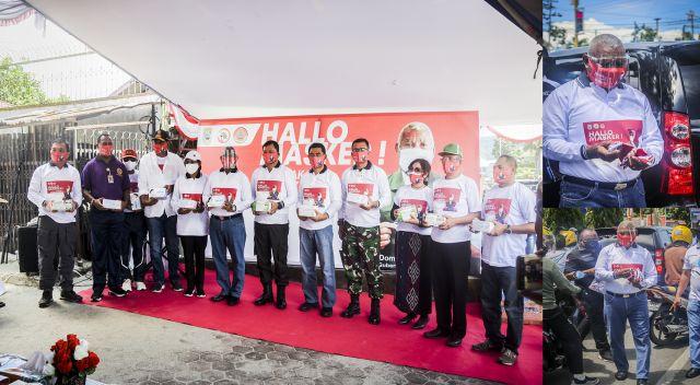 Gubernur Papua Barat Canangkan Gerakan 'Hallo Masker' Mari Kita Patuhi Protokol Kesehatan