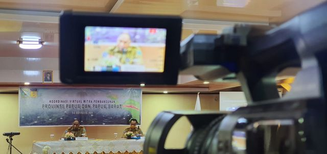 Gubernur Papua Barat Buka Pertemuan Koordinasi Virtual antara Pemerintah Daerah dan Mitra Pembangunan se-Tanah Papua