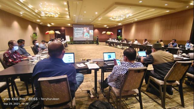 Pertemuan Regional Satuan Tugas Gubernur untuk Hutan dan Iklim Governor's Climate and Forests Task Force atau GCF bagi Provinsi Kaya Hutan di Indonesia