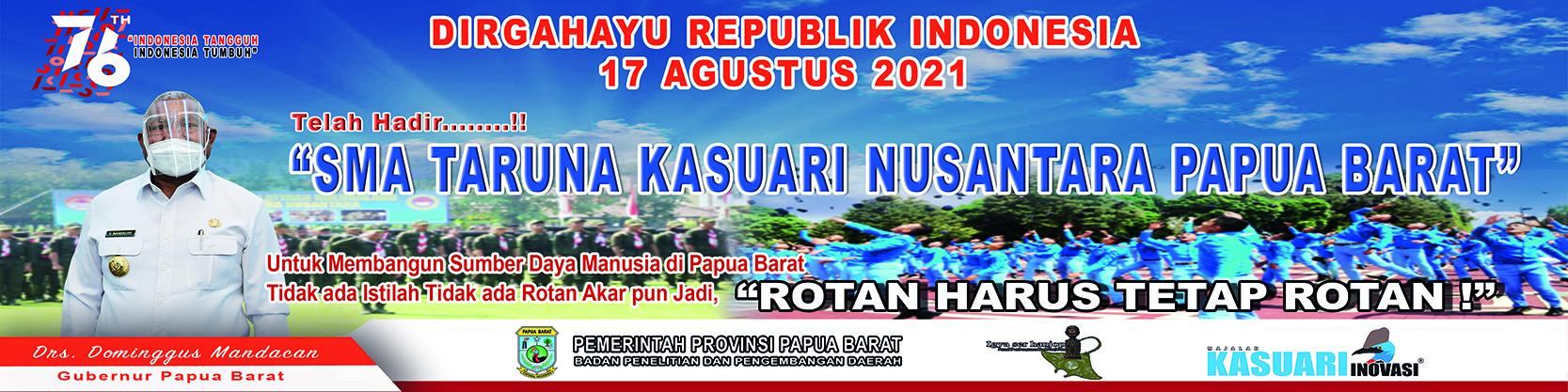 Dirgahayu Republik Indonesia 17 Agustus 2021